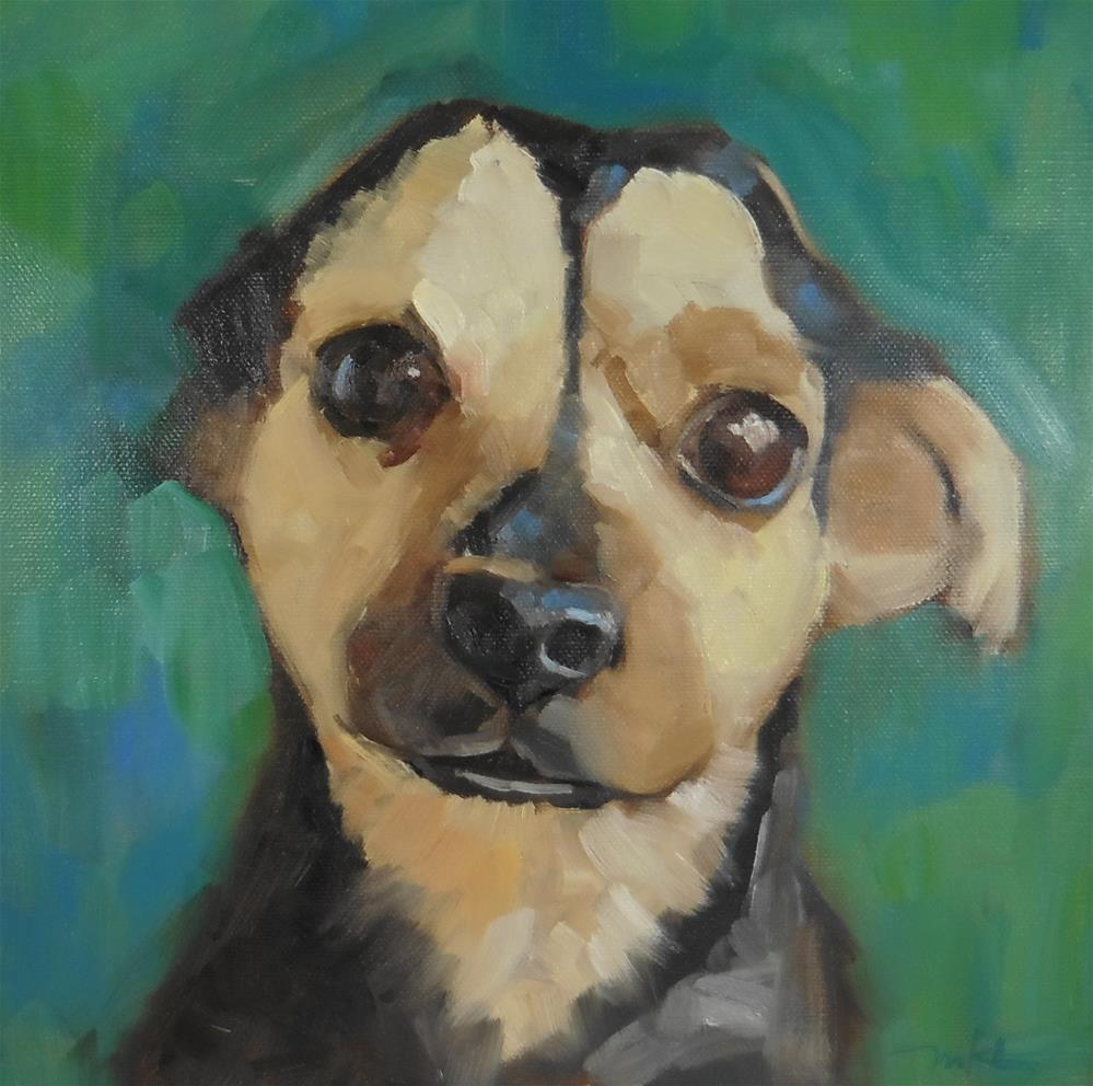 """Topher"" original fine art by Marlene Lee"