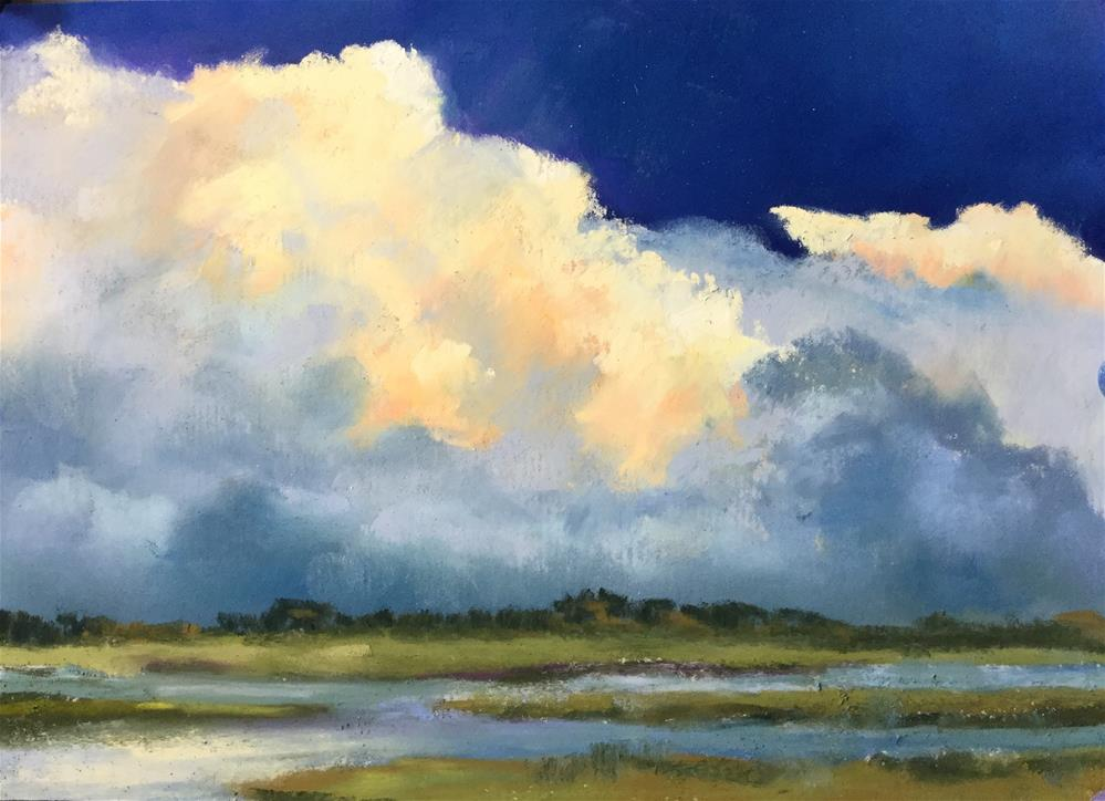 """Carolina Marsh"" original fine art by Jan Hutchinson"