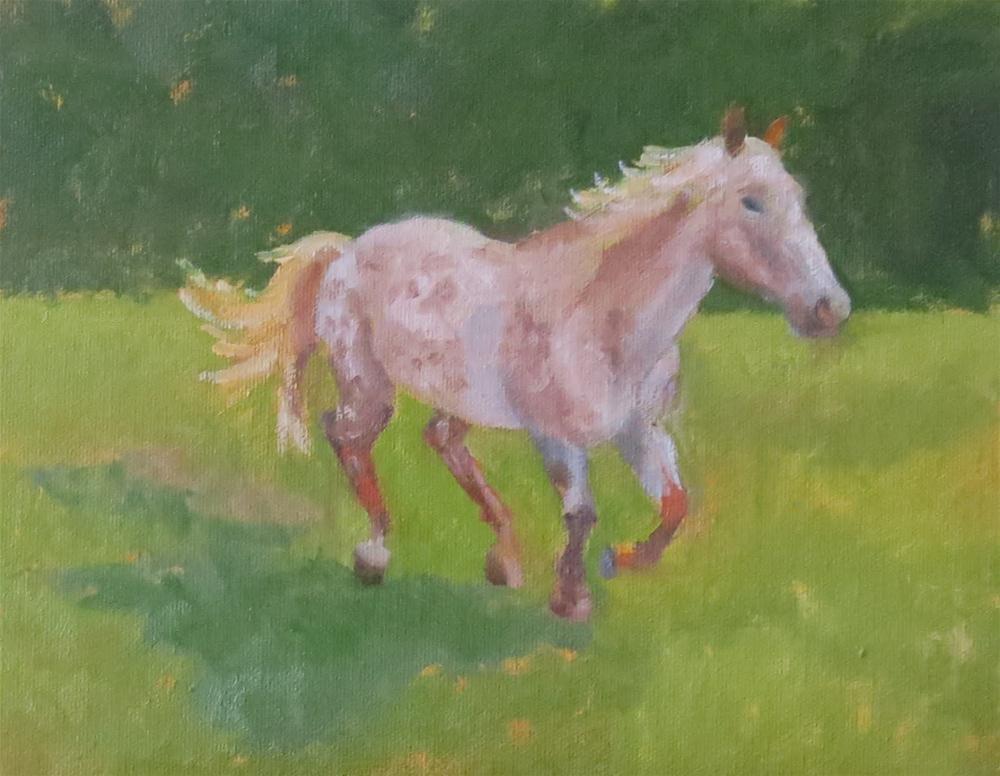"""Study of Chief #2"" original fine art by Pam Holnback"