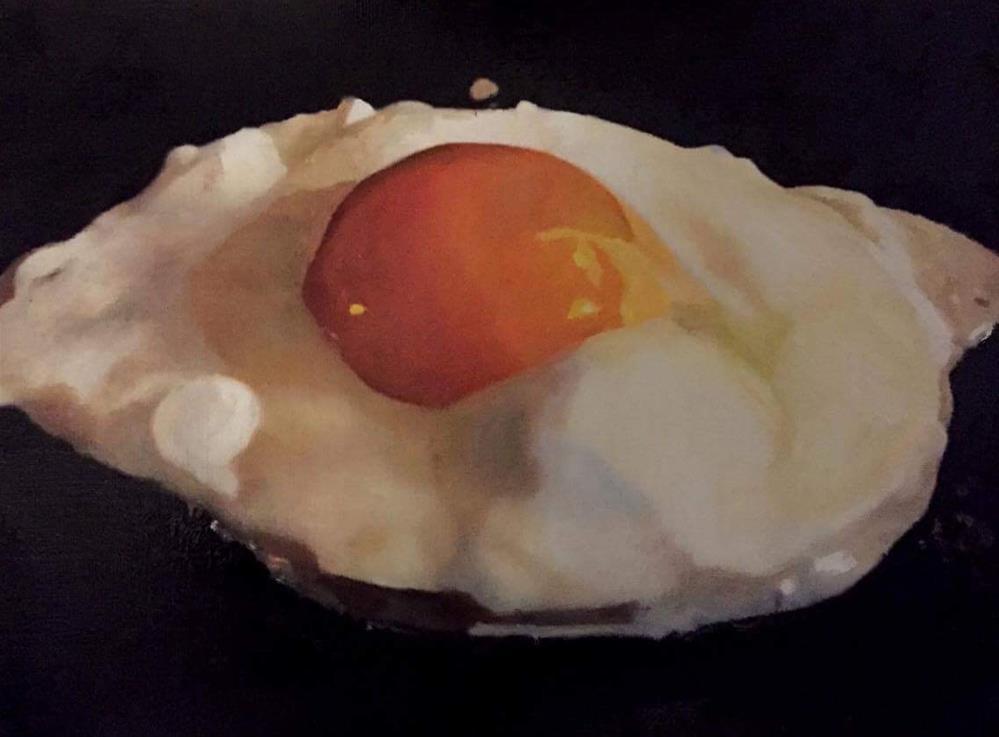 """Ultimate Fried Egg"" original fine art by John Cameron"