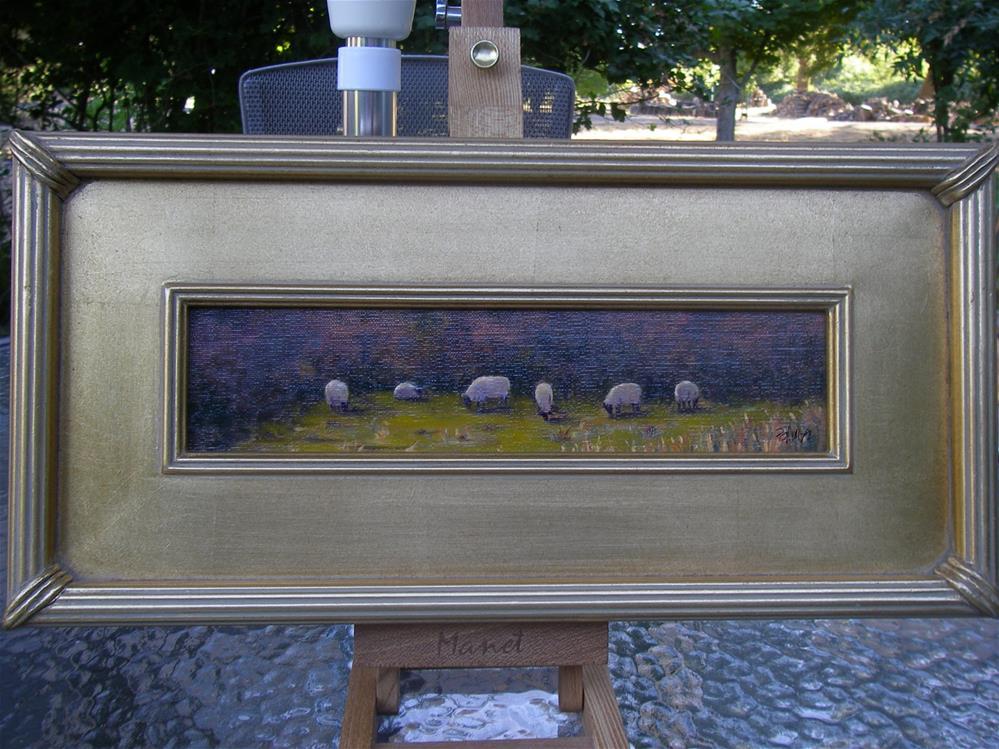 """""""Grazing on Saturday"""" original fine art by Susanne Billings"""