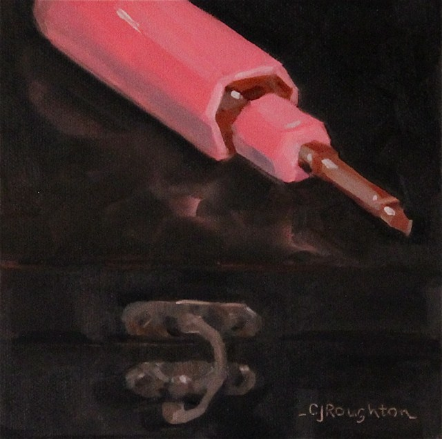 """My Favorite Screw Driver:)"" original fine art by C J Roughton"