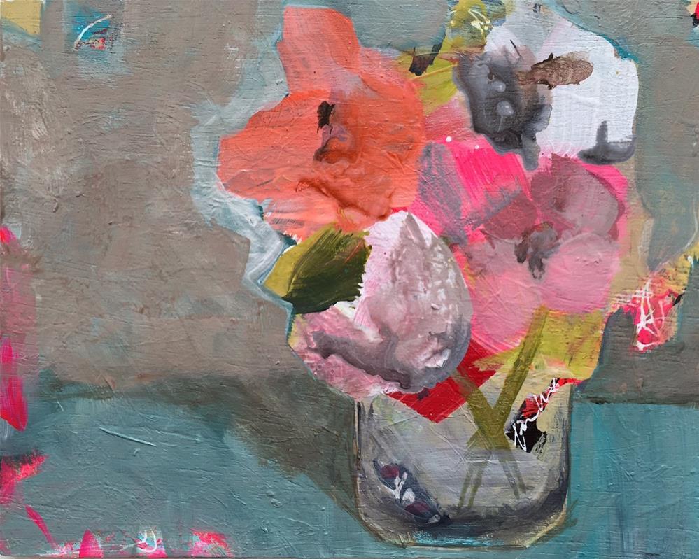 """49 From the Garden"" original fine art by Jenny Doh"