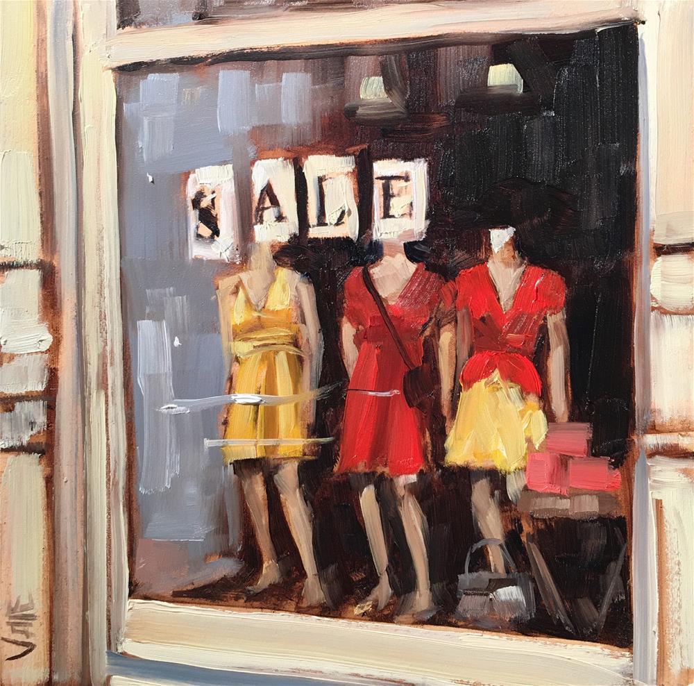 """#295 Summer Clothes"" original fine art by Patty Voje"