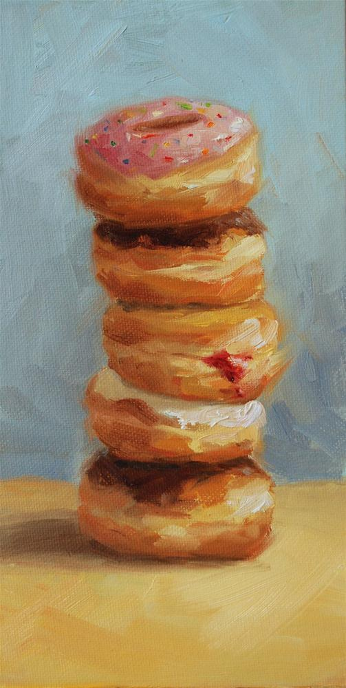 """Sprinkles On Top"" original fine art by Julie Kirkland"