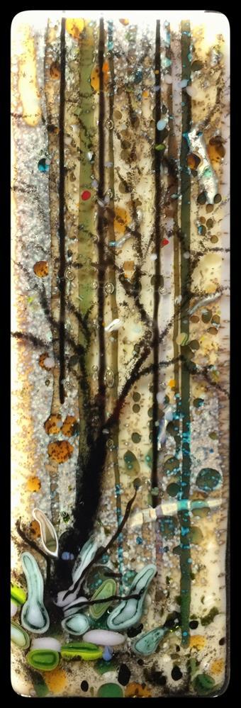 """""""Silvery Fall"""" original fine art by Kelly Alge"""