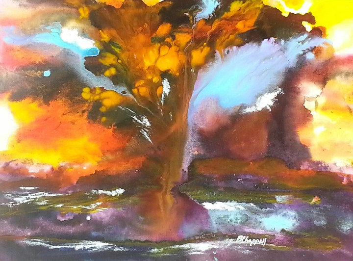 """""""Inner Awakening"""" original fine art by Becky Chappell"""