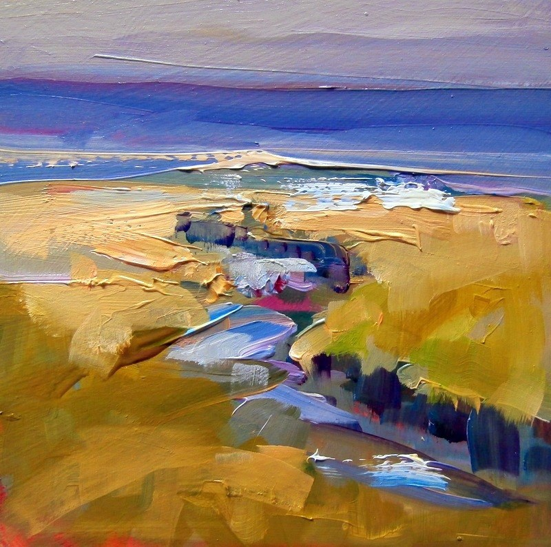 """Eastern Marsh"" original fine art by Anne Wood"