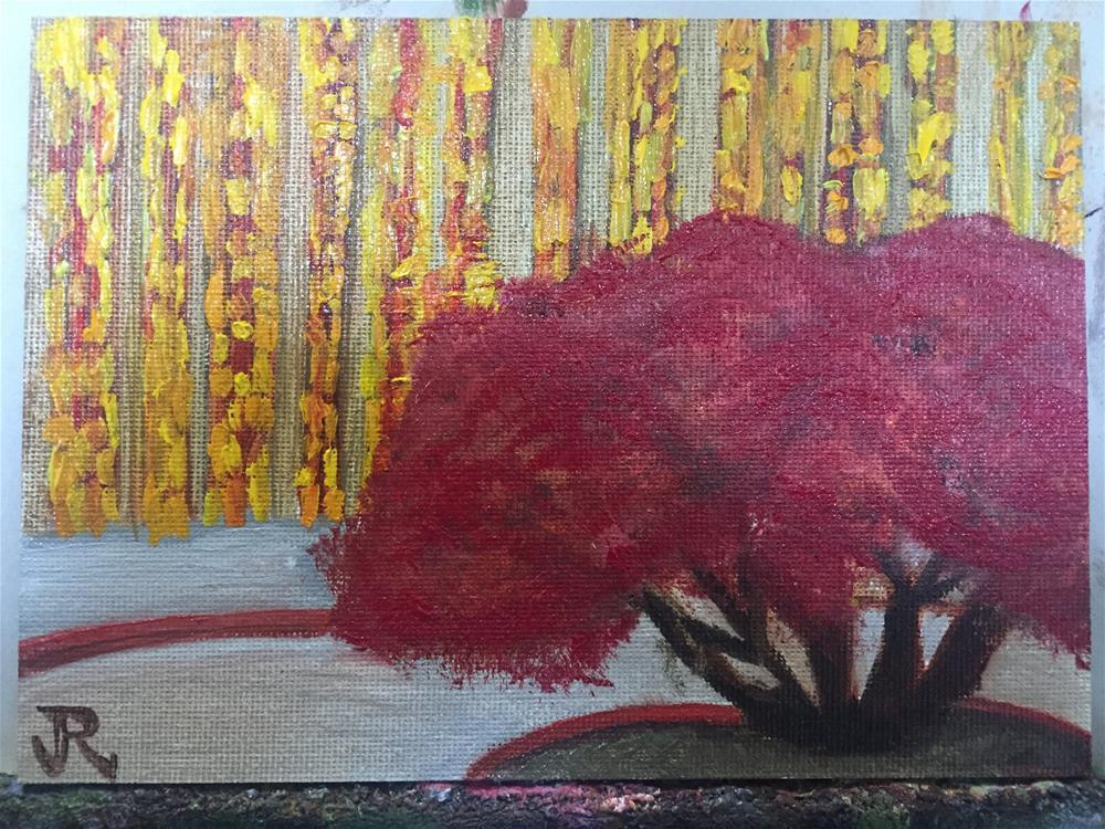 """""""Grass Blades EMP"""" original fine art by Julie Ratcliff"""
