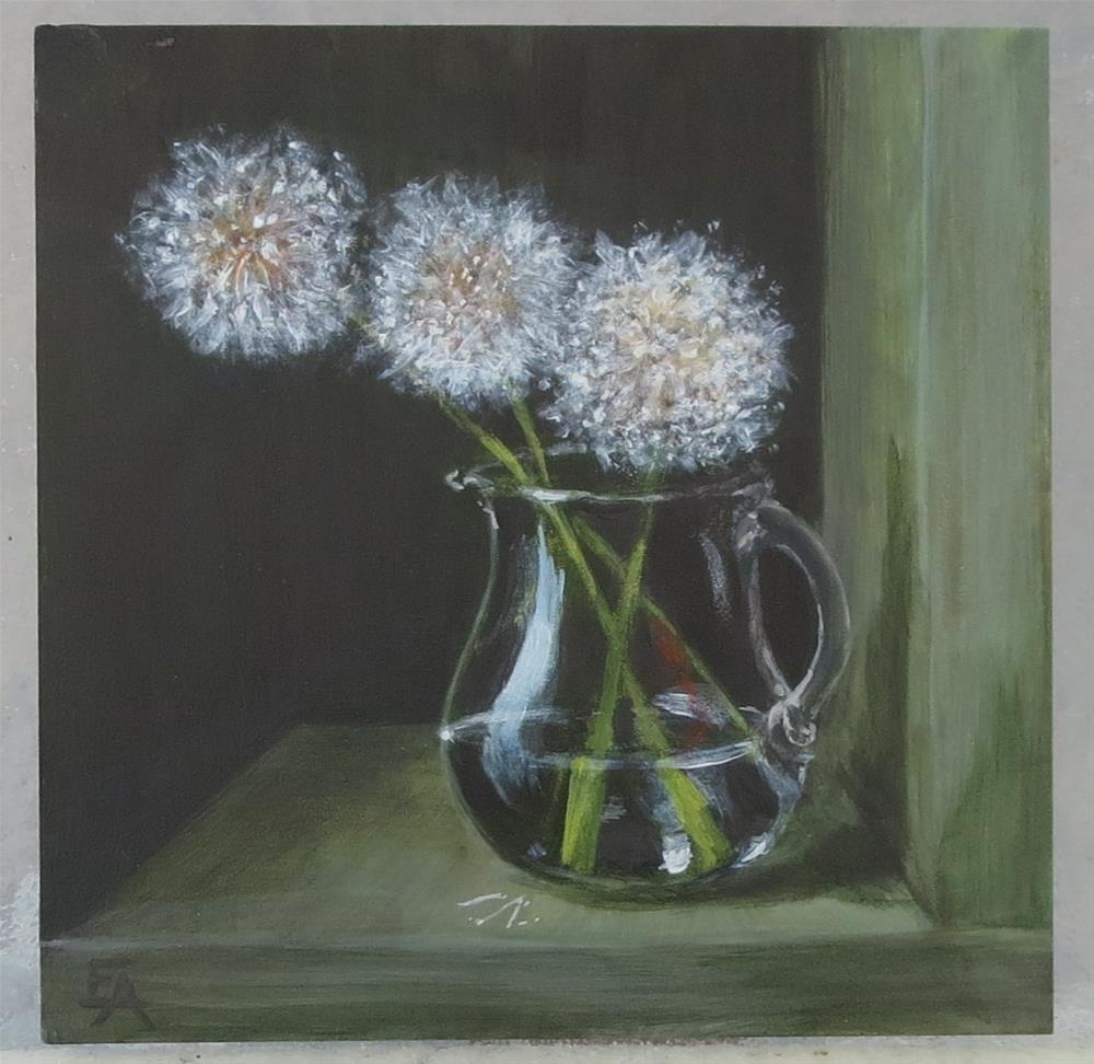 """Weeds Can Be Lovely, Too"" original fine art by Elizabeth Elgin"
