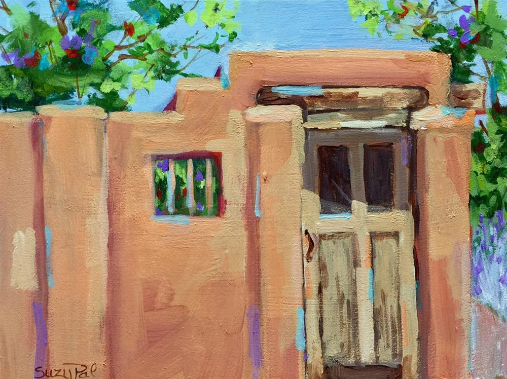 """Santa Fe #16"" original fine art by Suzy 'Pal' Powell"