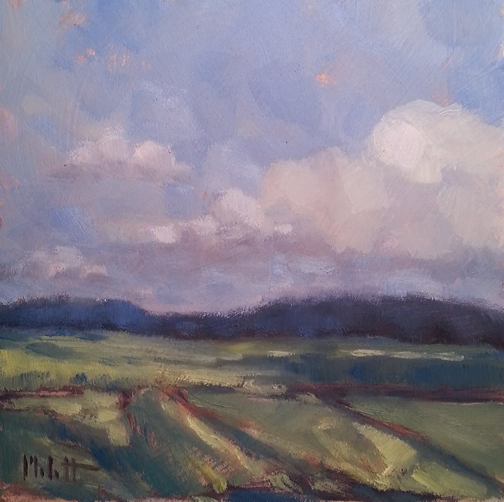 """Original Oil Paintings Landscape Impressionism"" original fine art by Heidi Malott"