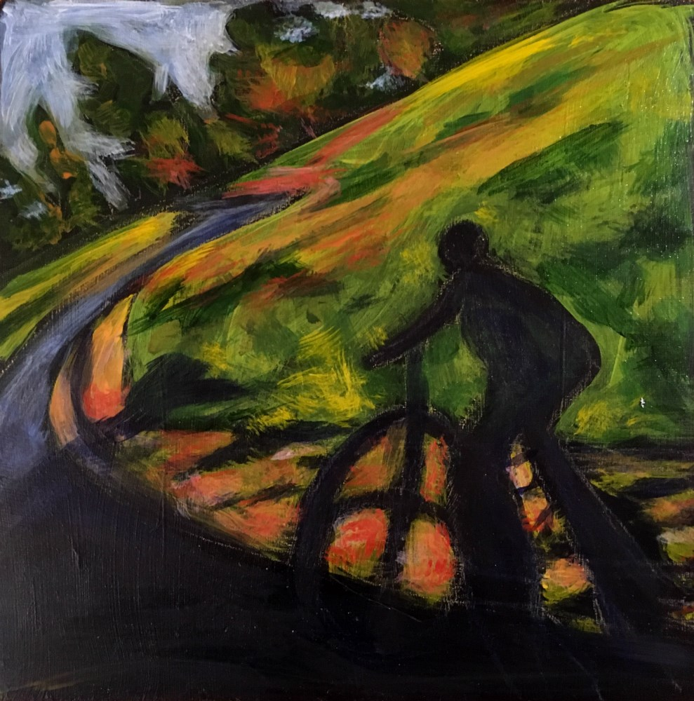 """Summer Ride - SOLD"" original fine art by Colleen OHair"