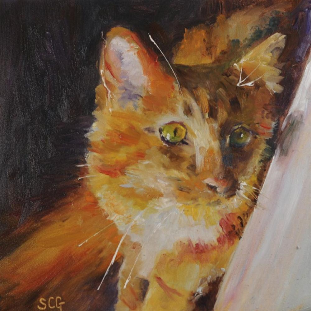 """""""Fred #1"""" original fine art by Sue Churchgrant"""