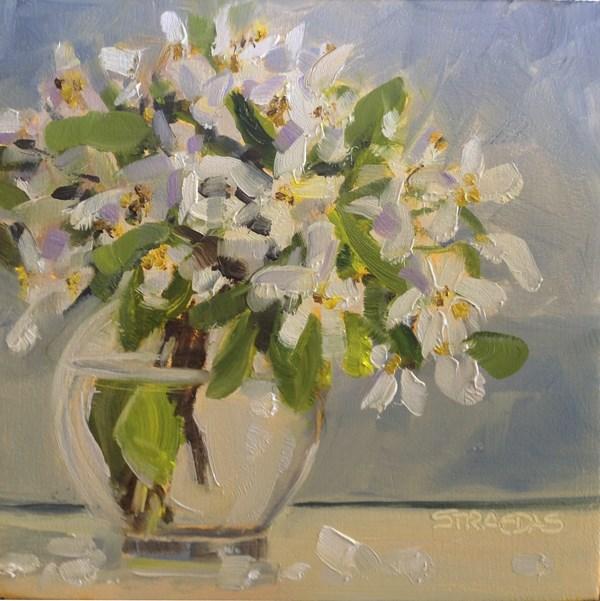 """Fall Flowers"" original fine art by Marcela Strasdas"