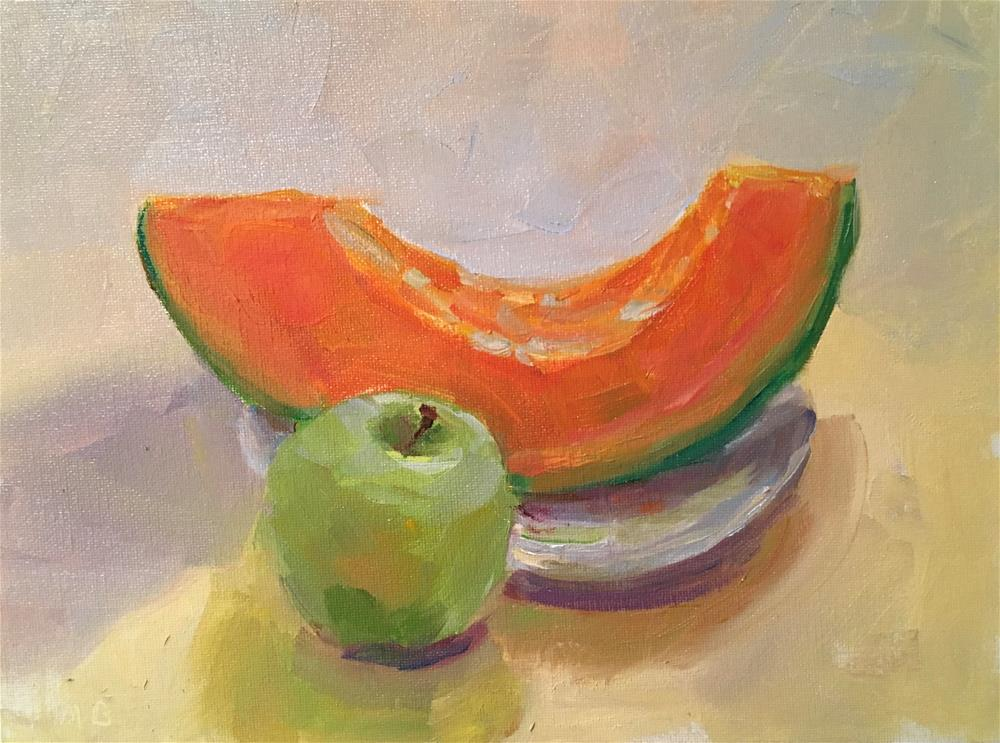 """Can't Elope With You"" original fine art by Marcia Bergtholdt"