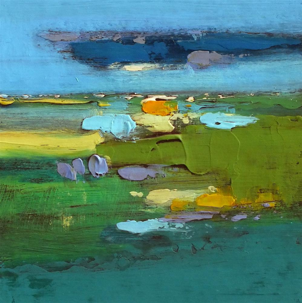 """Landscape 285"" original fine art by Ewa Kunicka"