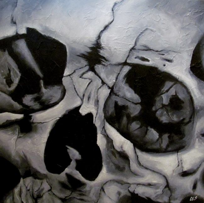 """""""Broken"""" original fine art by ~ces~ Christine E. S. Code"""