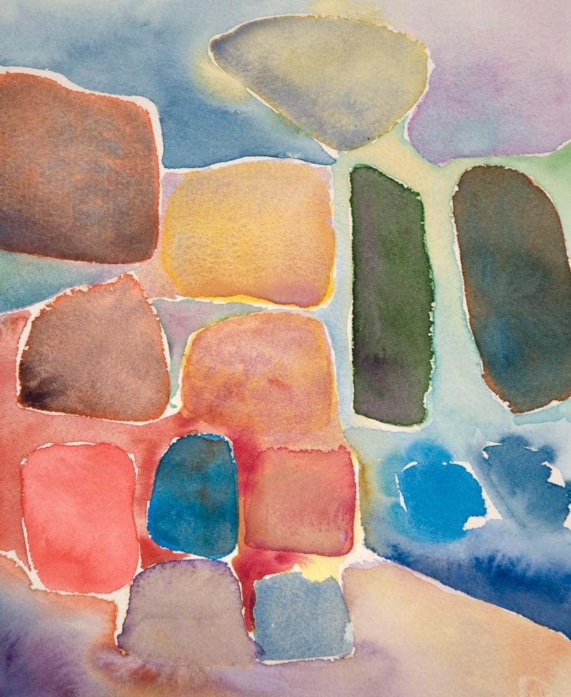 """Color Blocks #1"" original fine art by Ryan Martin"