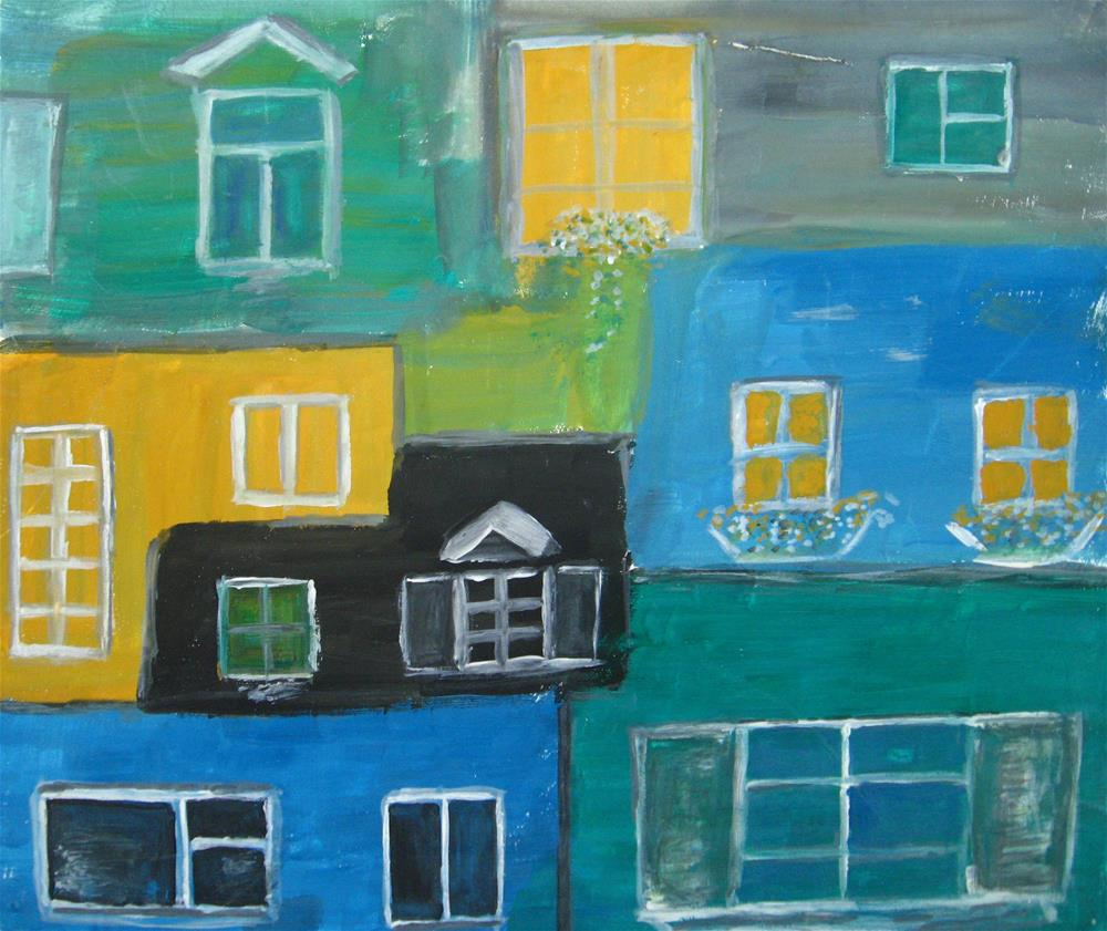 """Windows"" original fine art by Alina Frent"