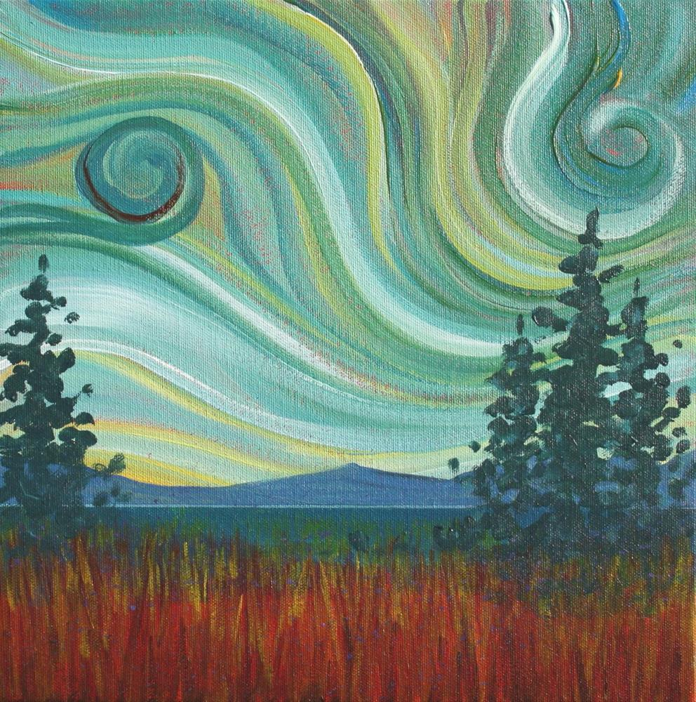 """Colour of the Wind"" original fine art by Sage Mountain"
