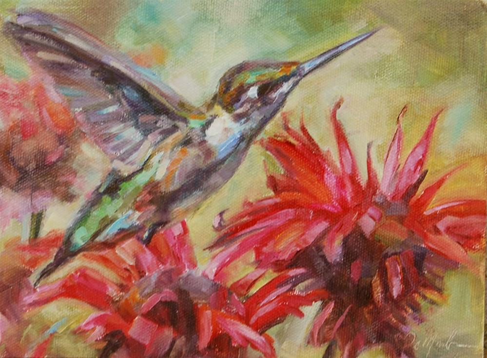"""Humming Along"" original fine art by Carol DeMumbrum"