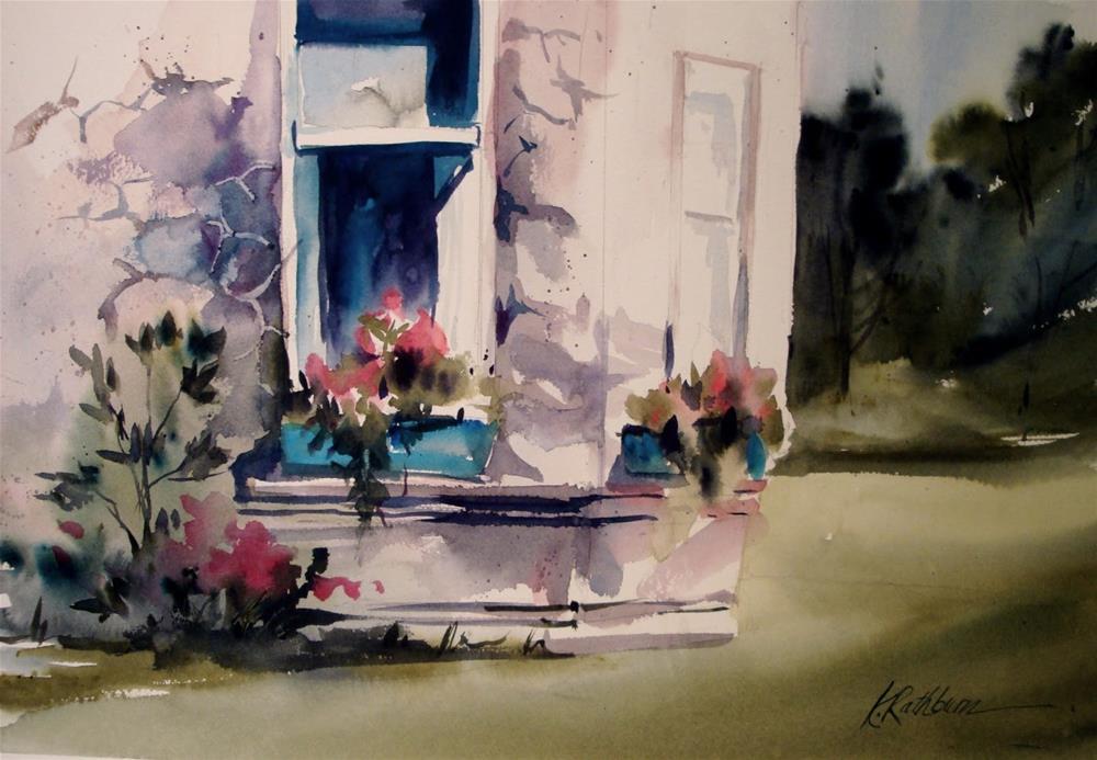 """Window Demo"" original fine art by Kathy Los-Rathburn"