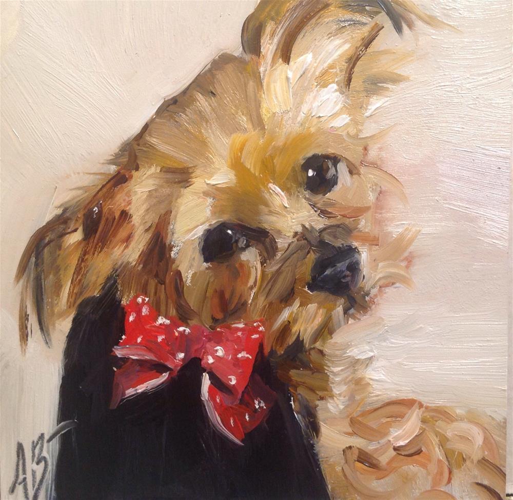 """""""Sweet Pamela Sue"""" original fine art by Annette Balesteri"""