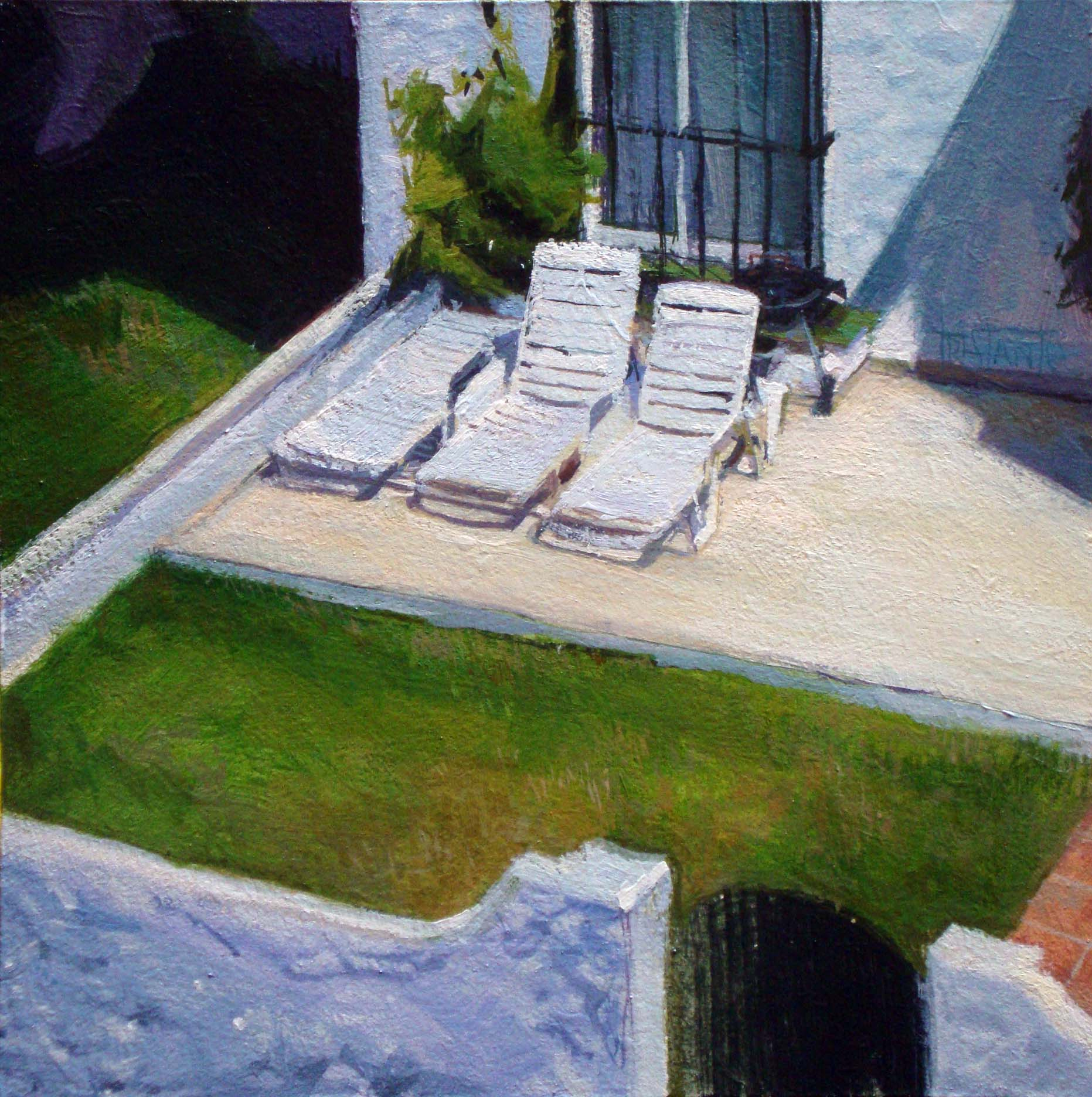 """Summer way of life"" original fine art by Víctor Tristante"
