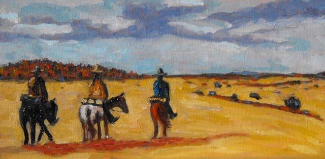 """Terlingua"" original fine art by William Cook"