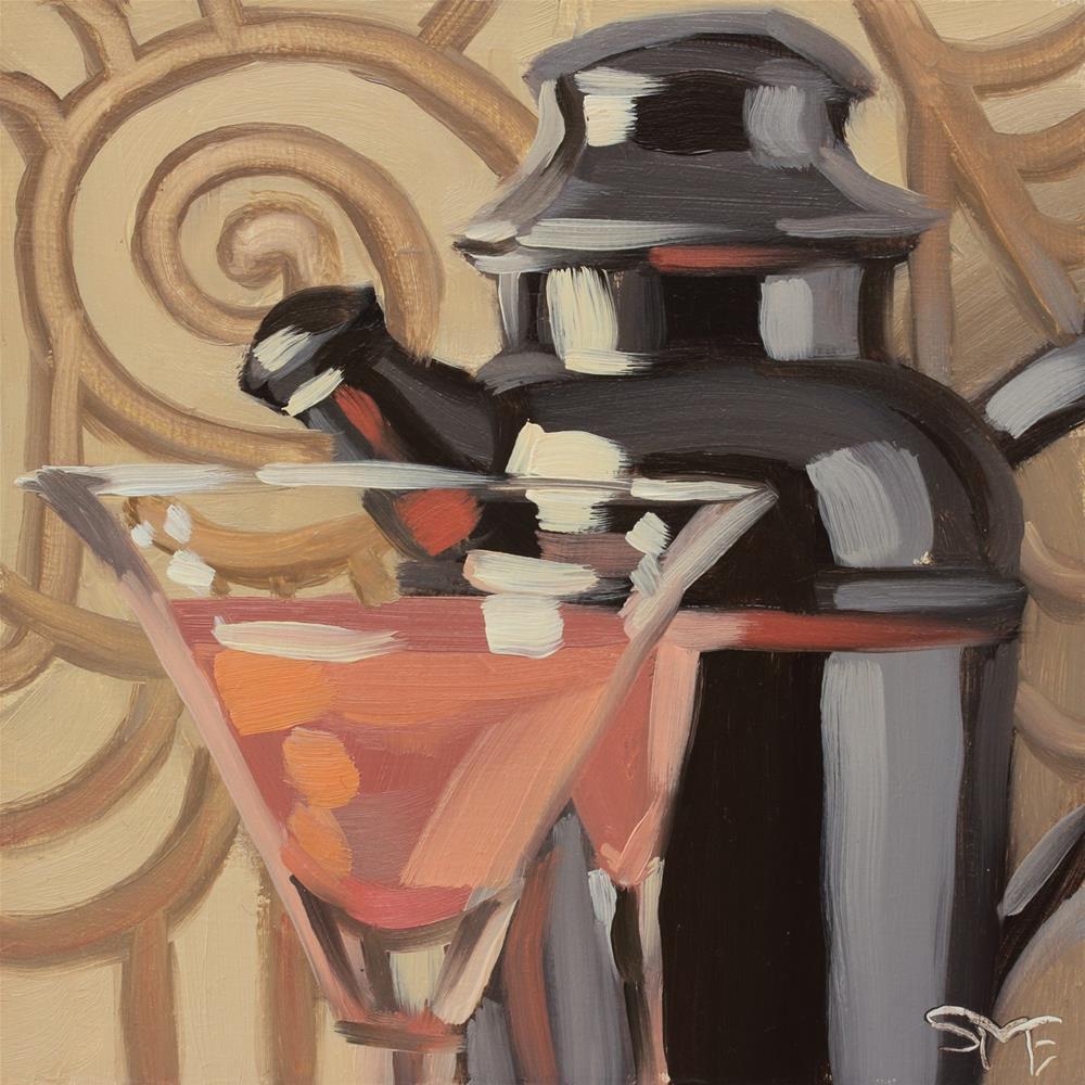 """""""Deco Dream 2"""" original fine art by Sheila Evans"""