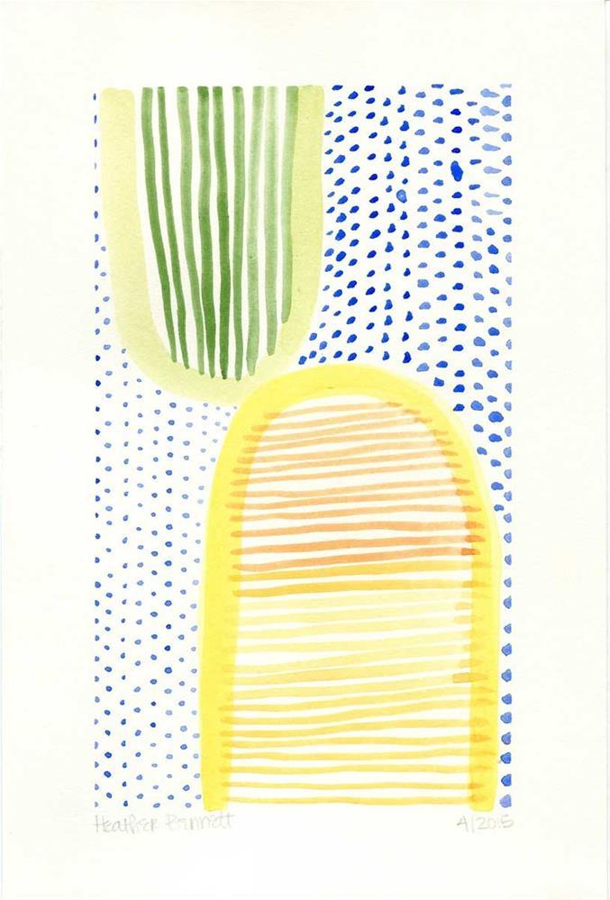 """""""April Showers"""" original fine art by Heather Bennett"""