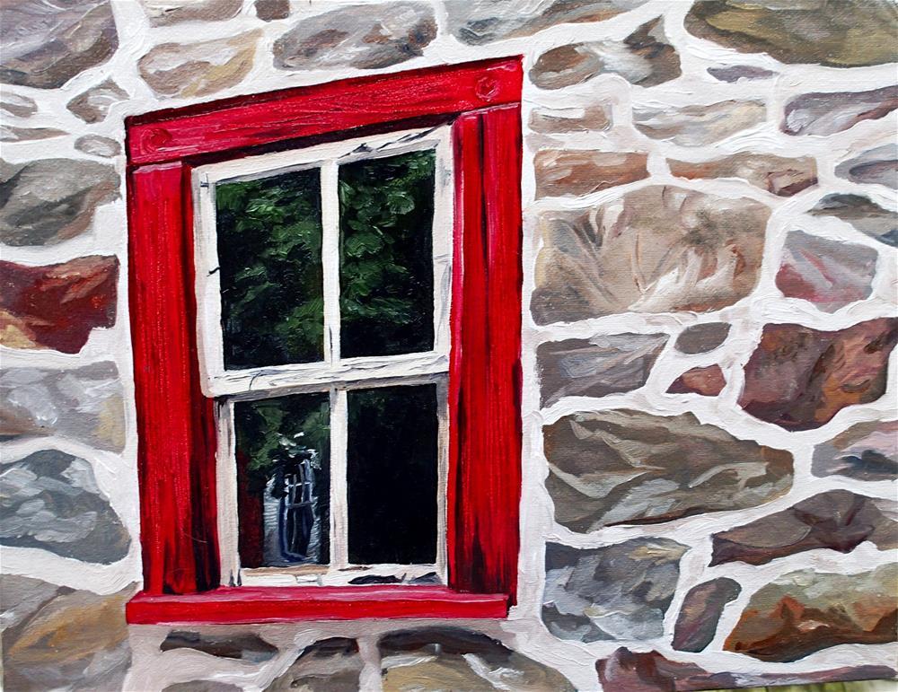 """""""Queen of the Valley Barn"""" original fine art by Lauren Kuhn"""