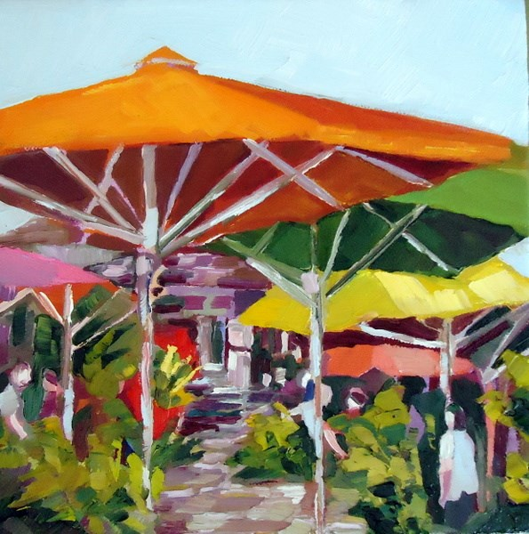 """Shady Day"" original fine art by Laurie Mueller"