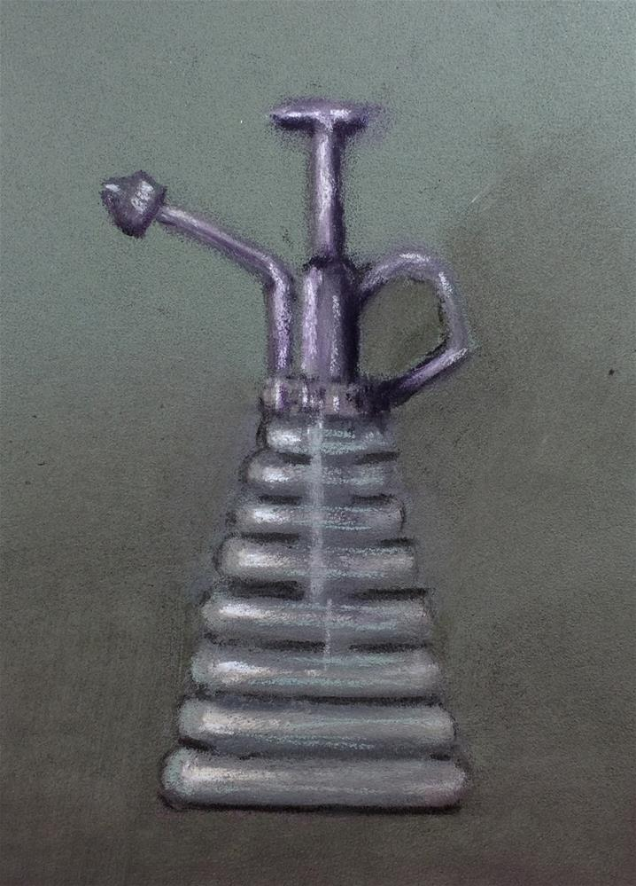 """Vintage Atomizer"" original fine art by Cristine Kossow"