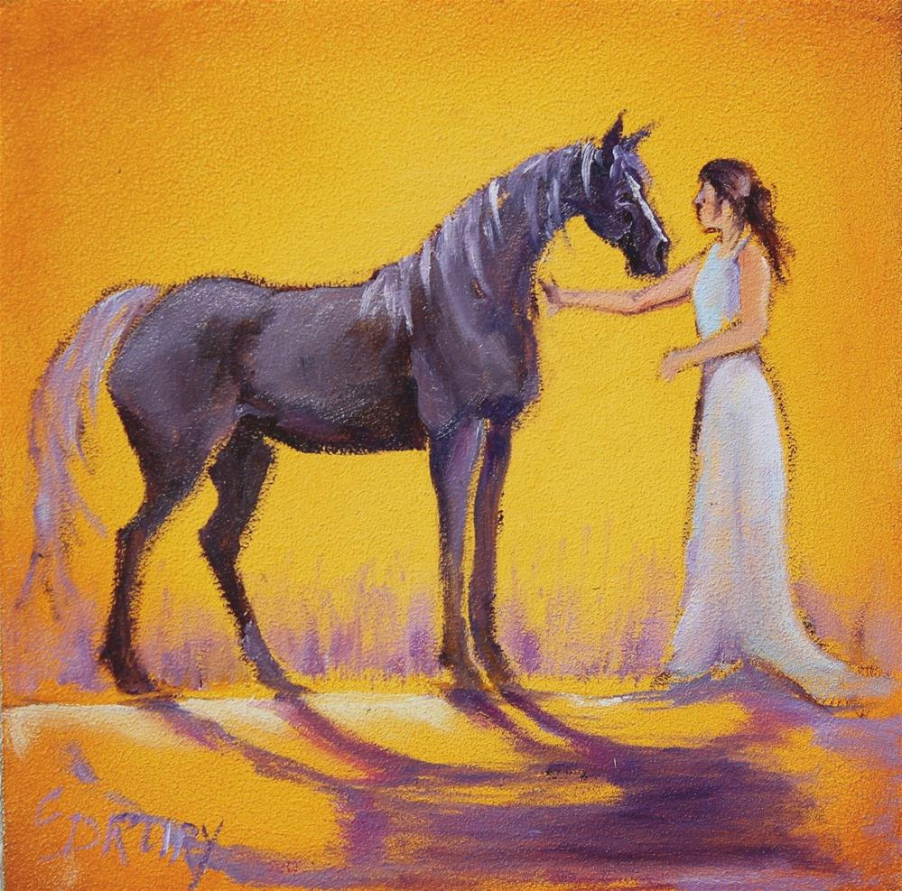 """Date Night"" original fine art by Colleen Drury"