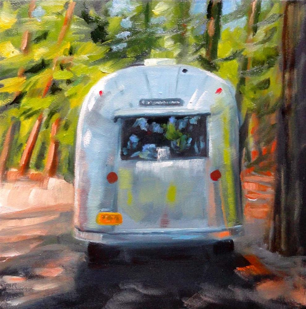 """On The Road Again"" original fine art by Cietha Wilson"