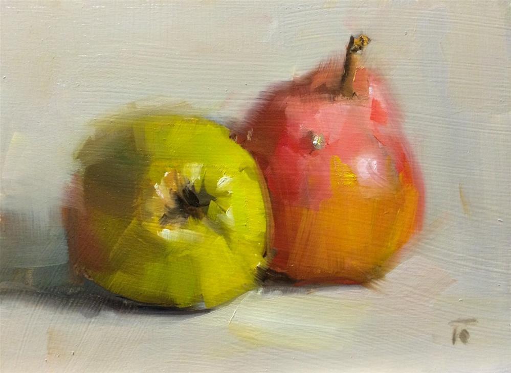"""Pimple and Butt"" original fine art by Thomas Ruckstuhl"