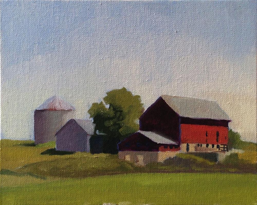 """Nice Dairy Air"" original fine art by Eric Larson"