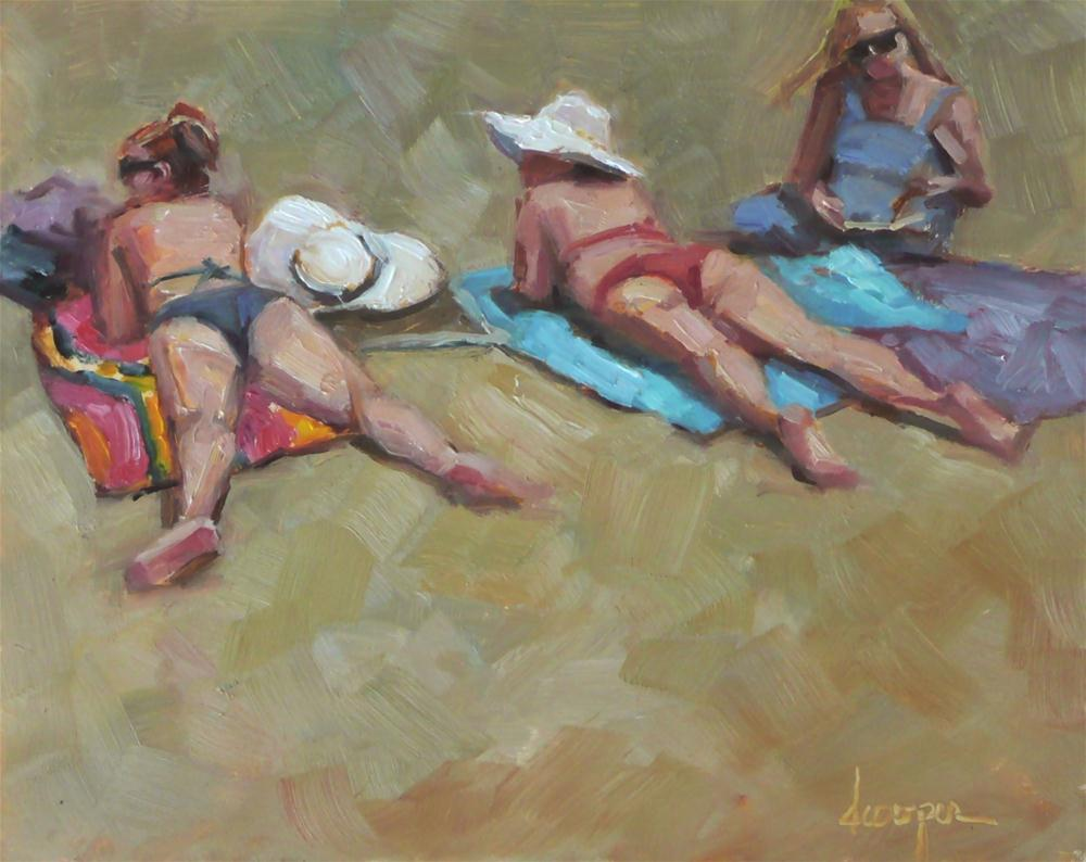 """Bikini Babes"" original fine art by Dana Cooper"