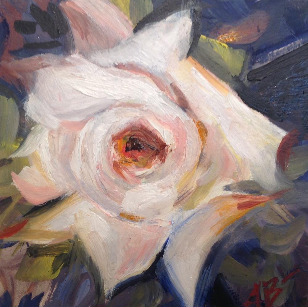 """Garden Rose"" original fine art by Annette Balesteri"