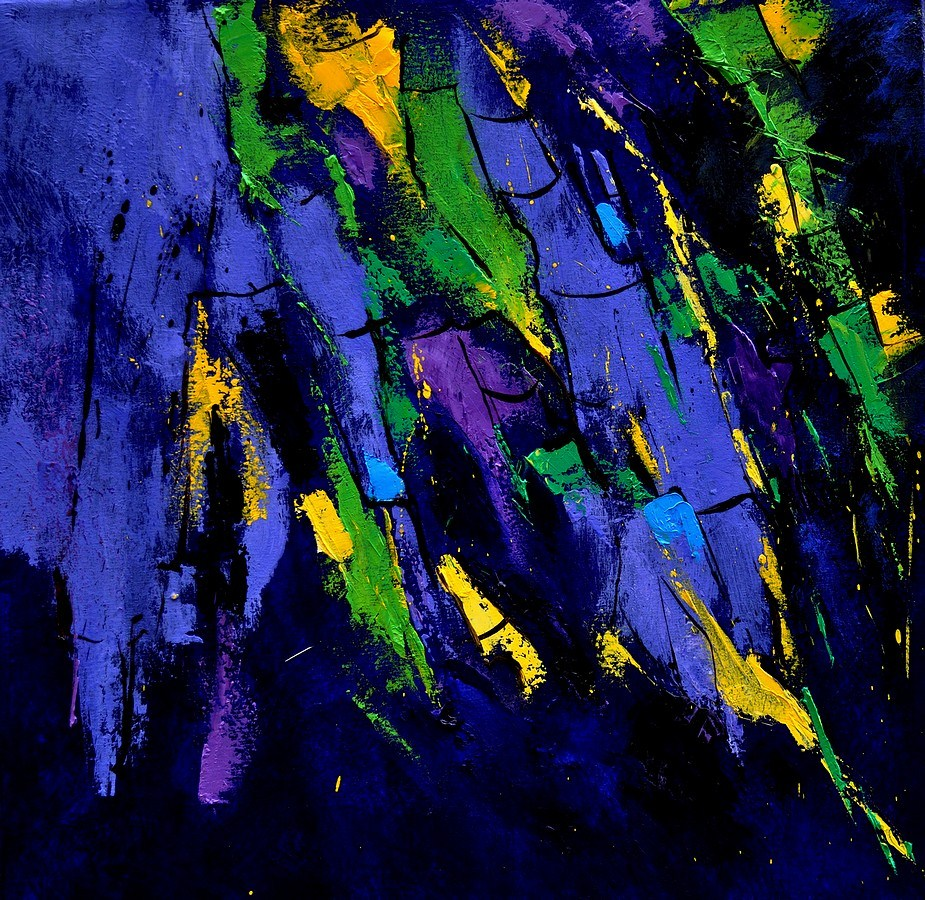 """abstract 5531101"" original fine art by Pol Ledent"