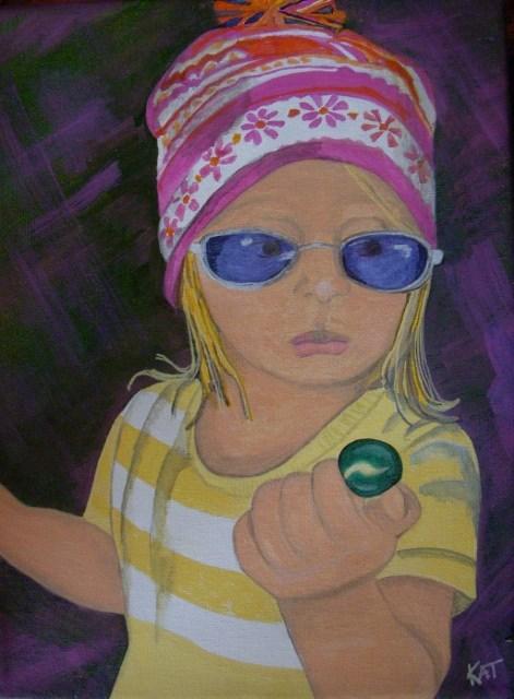 """""""Grammas Diva"""" original fine art by Kathleen Carrier"""