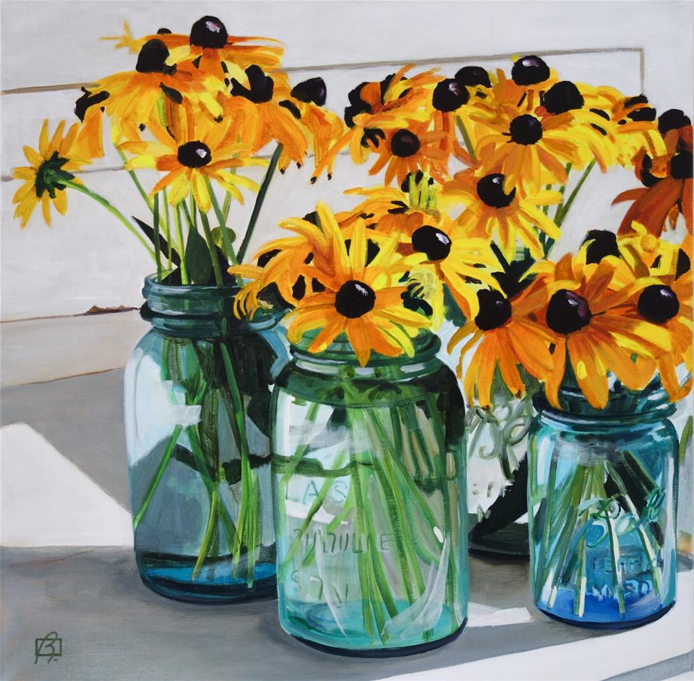 """Palliative Flowers"" original fine art by Andre Beaulieu"