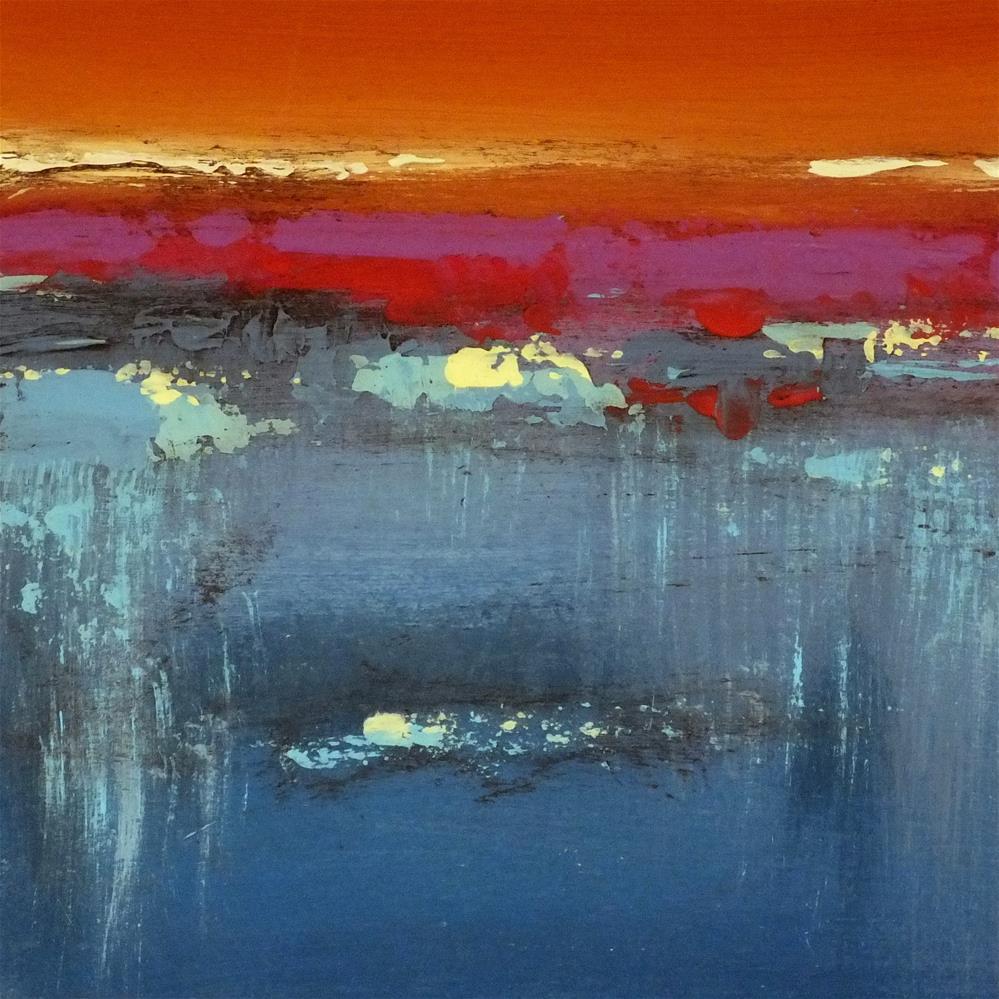 """Landscape 223"" original fine art by Ewa Kunicka"