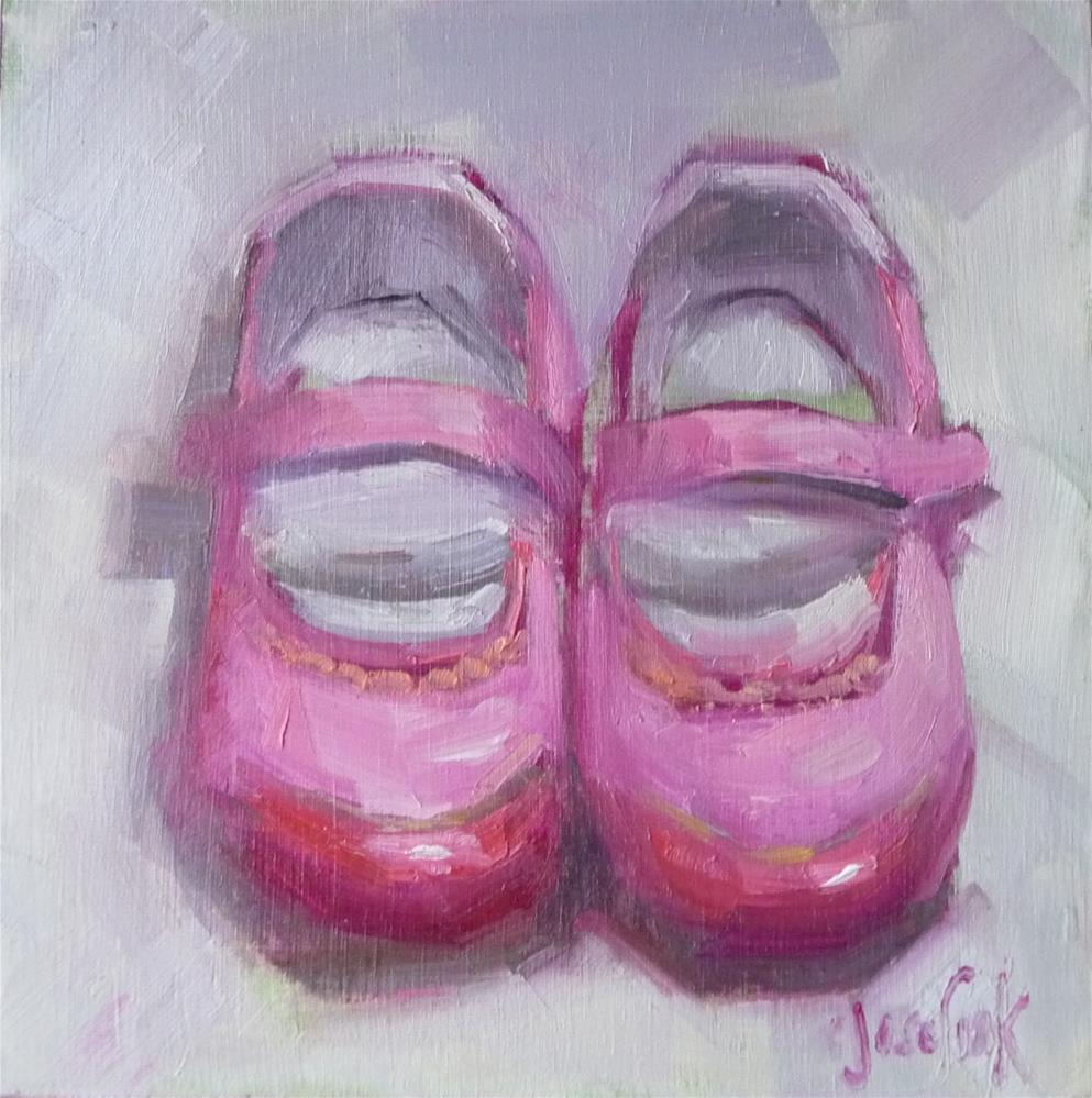 """Pretty in Pink"" original fine art by Carol Josefiak"