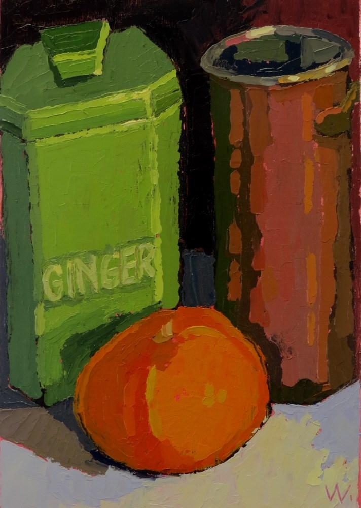 """GINGER"" original fine art by Joan Wiberg"