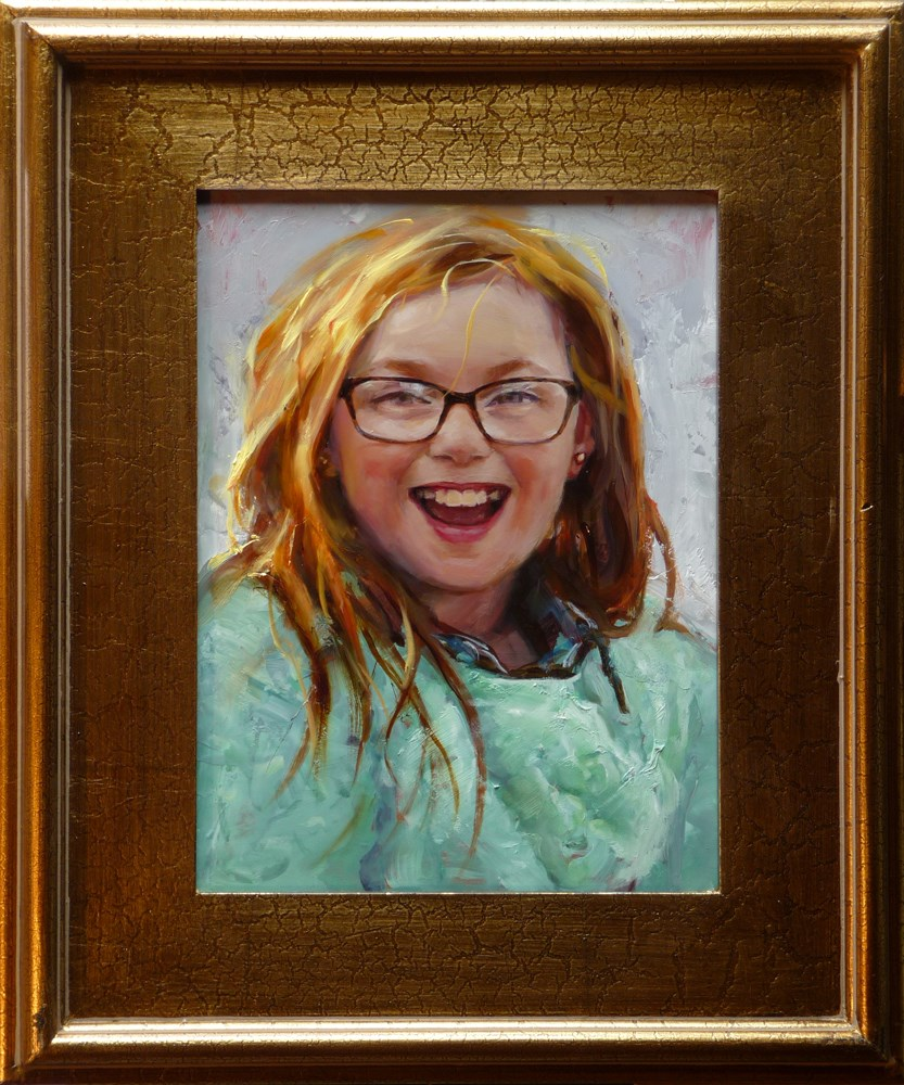 """Amelia"" original fine art by John Larriva"