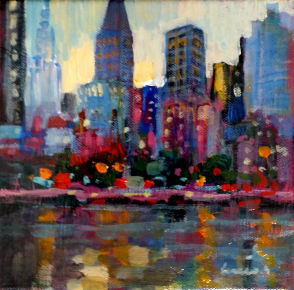 """New-York #2"" original fine art by salvatore greco"