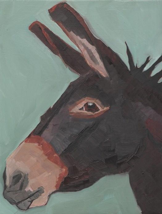 """Donkey "" original fine art by Elizabeth See"
